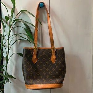 Vintage Louis Vuitton Bucket Bag SD0090 Monogram